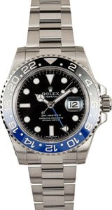 Men's Rolex GMT-Master II Ref 116710 Batman