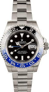 Men's Rolex GMT-Master II Ref 116710 'Batman' Ceramic Model