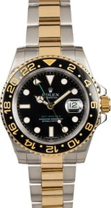 Rolex GMT-Master II Ref 116713 Ceramic Bezel Two Tone