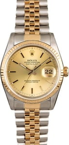 Men's Rolex Datejust 16233 Jubilee