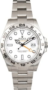 Rolex Explorer II Ref 216570 Stainless Steel Band