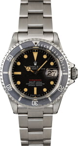 Vintage 1969 Rolex Submariner 1680 with Fat Font Bezel