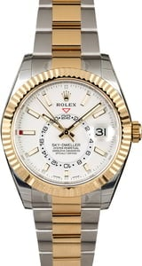 Used Rolex Sky-Dweller 326933 Two Tone Oyster