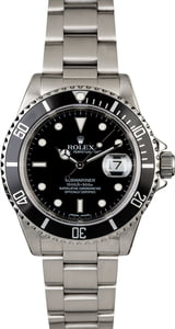 Rolex Submariner 16610 Oyster Perpetual Diving Watch