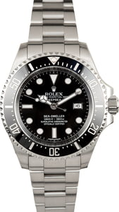 Men's Rolex Sea-Dweller DeepSea 116660 Ceramic Bezel