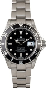 PreOwned Rolex Submariner 16610 Stainless Steel