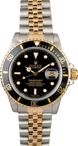 Rolex Submariner 16803 Two Tone Jubilee