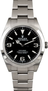 Pre-Owned Rolex Explorer 214270 Stainless Steel