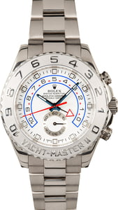 Pre Owned Rolex Yacht-Master II Ref 116689 White Gold