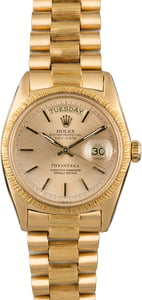 Rolex President 1807 Tiffany & Co Dial