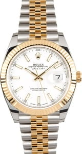Unworn Rolex Datejust 126333 White Dial