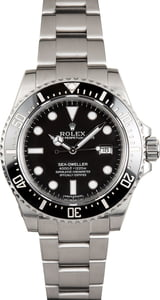 Unworn Rolex Sea-Dweller 116600 Ceramic Bezel