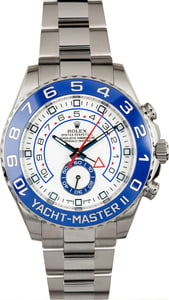 Men's Rolex Yacht-Master II Ref 116680 Blue Ceramic Model