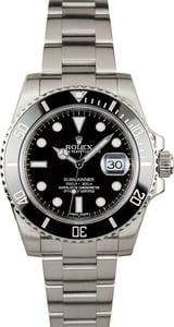 Used Rolex Submariner 116610 Stainless Steel Oyster Bracelet