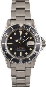 Vintage 1972 Rolex Submariner 1680 Faded Bezel