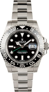 Men's PreOwned Rolex GMT-Master II Ref 116710 Ceramic Bezel