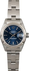 Ladies Rolex Datejust 79174 Blue