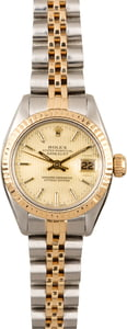 Vintage Rolex Datejust 6917 Tapestry Dial