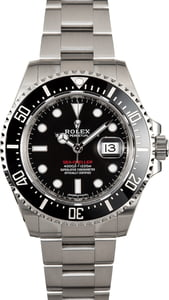Used Rolex Sea-Dweller 126600 Red Lettering Ceramic Model