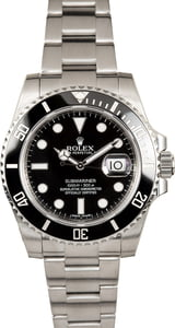 PreOwned Rolex Submariner 116610 Stainless Steel