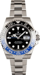 Rolex GMT-Master 116710 'Batman' with Factory Stickers