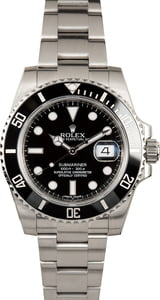 Certified Rolex Submariner 116610 Black Ceramic Model