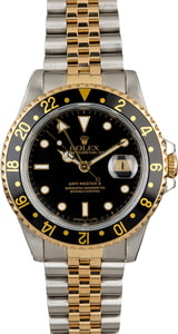 Used Rolex GMT-Master II Ref 16713 Black Dial