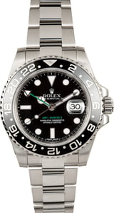 Used Rolex GMT-Master II Ref 116710 Black Ceramic Bezel