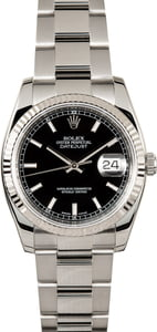 Men's Rolex Datejust 116234 Steel Oyster Bracelet