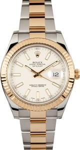 Rolex DateJust 41MM Ivory