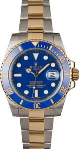 Pre-Owned Rolex Submariner 116613 Blue Ceramic Bezel