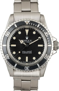 Rolex Submariner 5513 Vintage Watch