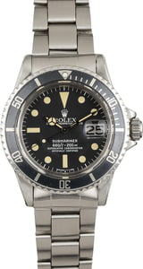 Vintage 1975 Rolex Submariner 1680 Faded Bezel