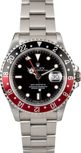 Used Rolex GMT Master II Ref 16710 'Coke'