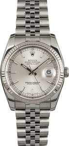 Men's Rolex Oyster Perpetual DateJust Steel 116234