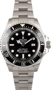 PreOwned Rolex Sea-Dweller 116660 Ceramic Black Bezel