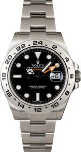 Pre-Owned Rolex Explorer II Ref 216570 Stainless Steel Oyster