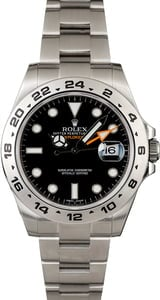 Pre-Owned Rolex Explorer II Ref 216570 Steel 40MM