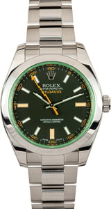 Rolex Milgauss 116400V Stainless Steel Oyster