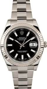 Rolex Datejust 2 Black Dial 116334