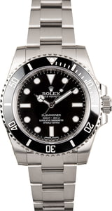 Used Rolex Submariner 114060 Stainless Steel Oyster