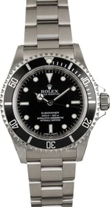 Pre Owned Rolex Submariner 14060