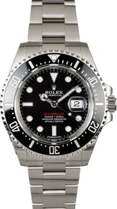 Used Rolex Sea-Dweller 126600 Red Letter Dial