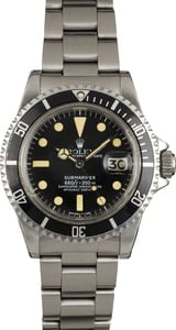 Vintage 1980 Rolex Submariner 1680 Feet First Dial