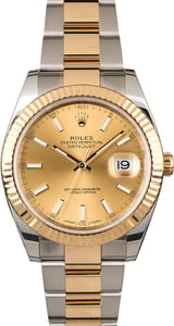 Rolex Datejust 41 Ref 126333 Champagne Dial