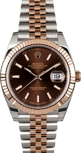 Unworn Rolex Datejust 126331 Chocolate Dial