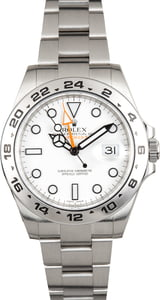 Rolex Explorer II Ref 216570 Stainless Steel with 'Polar' Dial