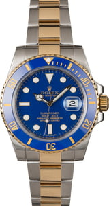 Pre-Owned Rolex Submariner 116613 Two Tone Oyster