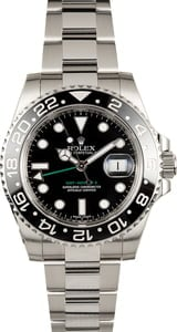 Pre Owned Rolex GMT-Master II Ref 116710 Black Ceramic Bezel