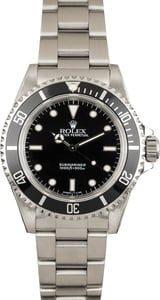 Pre Owned Rolex Submariner 14060 Timing Bezel